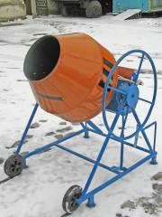 Concrete mixers from the producer sale delivery