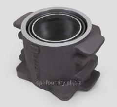 Axle box case alloy vagonamarka: Steel 15L,