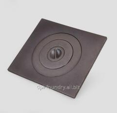 Плита печная 1-конфорочная<br />Марка сплава: СЧ20, Вес: 10,4 кг.