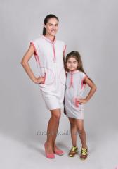 Dress Sports with a rack for the girl of T-111