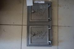 Дверца чуг.(М)(64) спарка (265х490)  2-х сторонняя