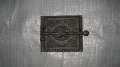 Дверца чуг.(Р)(ШП-05В) топочная (зажим) +отражатель