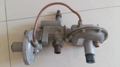 Gas pressure regulators the combined RDGK-10,