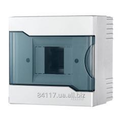 Щит з прозорою кришкою для зовнішньої установки