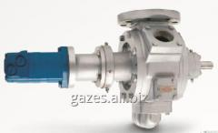 The pump flange Korken Z-3200 for gas carriers, gas tanks, semi-trailers tanks, SUG, propane-butane, GNS, gas refuelers