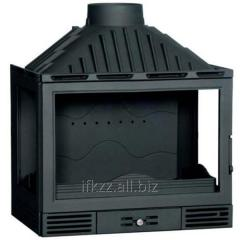 The fire chamber is chimney