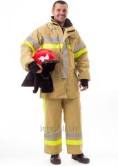 Suit for protection of the firefighter