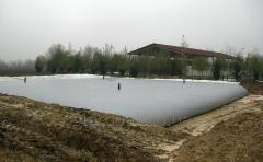 The tank for sewage, manure 40 m3
