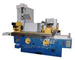 Semiautomatic device circular grinding centerless