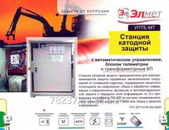 Stations of cathodic protection of pipelines