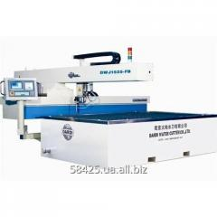 The machine for hydroabrasive cutting of the