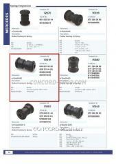 The plug spring rubber - threw 70319CNT