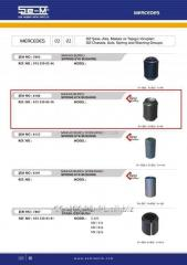 Plug spring SEM8186 rubber-metal