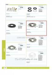 Protection of the brake drum 70934CNT