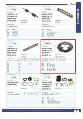 Protection of the brake drum 70939CNT