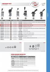 Crane of the parking brake 2159-03