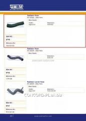 SEM8745 radiator branch pipe