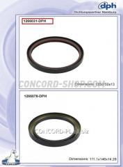 Crankshaft 1266031-DPH epiploon