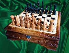 Let's MAKE (SHOP)!! Carved-. CHESS, the