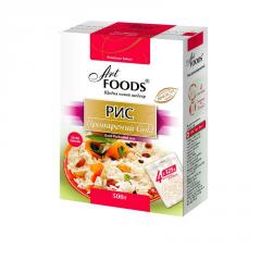 Rice the steamed GOLD TM ART FOODS in bags for