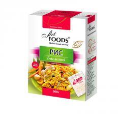 TM ART FOODS basmati rice in bags for cooking, 500