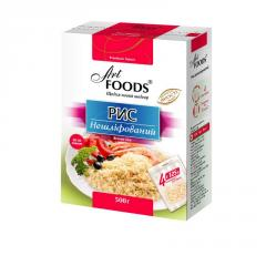 Rice not polished, TM ART FOODS, 500 g