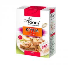 The TM ART FOODS barley grits in bags for cooking,