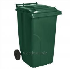 Бак мусорный 240 л.