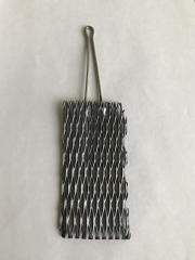 Анод из титана с иридиевым покрытием 150х50х1