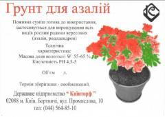 Soil for azaleas (2,0 l.)
