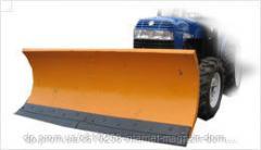 Shovel blade for motoblock