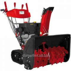 Dump-brush equipment for cleaning of roads,