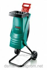 Vacuum cleaners garden grinders of branches