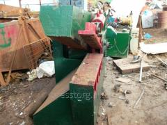 Alligator shears on Q43-1200 metal, second-hand
