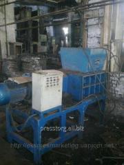 Q43P-600 crusher, for crushing of metal shaving