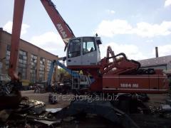 Wheel loader of Atlas 1804MI for scrap metal