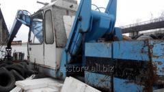 The overloader for second-hand scrap metal of