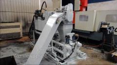 Пресс для брикетирования металлической стружки