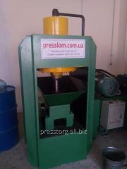 Пресс для брикетирования стальной стружки Y83-150