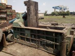 Press for scrap metal of Y81Q-135 Chinese