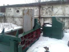 Press for packing metal waste products