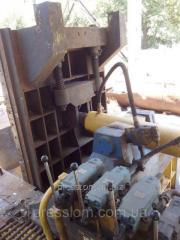 Пресс для пакетирования металлолома б/у Y81F-250