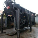 Shearing press for scrap metal of Bonfiglioli