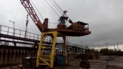 The stationary manipulator for scrap