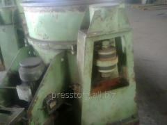 The centrifuge for metal shaving