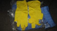 Gloves economic latex from 100 couples