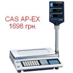 CAS AP-EX scales