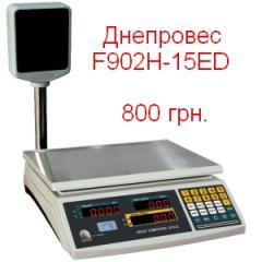 Scales trade Dneproves F902H-15ED