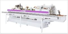 The machine for a hot nakatka of the edging tape