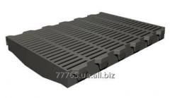 Lattice plastic for pigs (for office of growing)